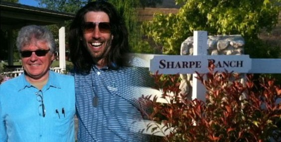 Lenny Kucinski and Mike Sharpe at Sharpes Ranch